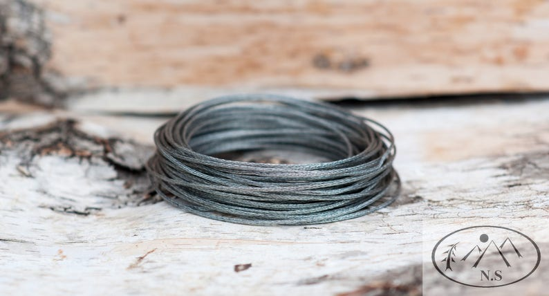 Native Survival Braided Snare Wire image 0