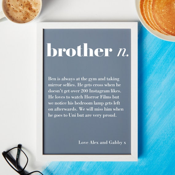 Brother Gift Definition Best