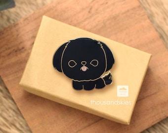 Shih Tzu Pin (Black)