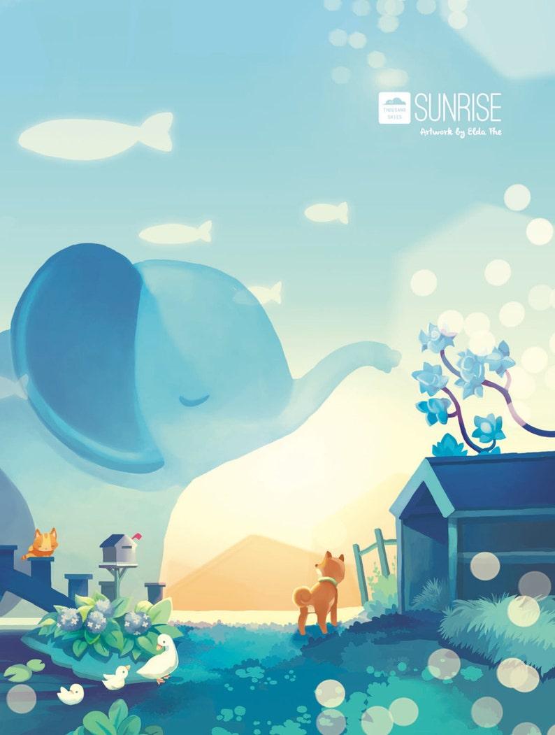 Sunrise Artbook image 0