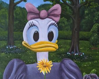 Daisy Duck in Disney's Toontown | Original Painting | 16 x 20 in.