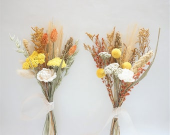 Fall Dried Flowers, Dried Flowers for Small Vase, Thanksgiving Table Decor, Desk Decor, Dried Flower Bundle, Fall Decor, Dry Flowers