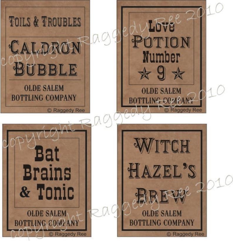 graphic about Printable Halloween Labels referred to as printable Halloween Labels, Halloween decor, Do it yourself Bottle labels, Halloween celebration, spell bottles, prompt print