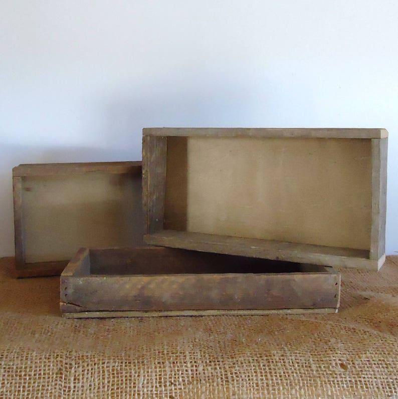 Bathroom Organizer Wood Tray Rustic Farmhouse Table Top Etsy