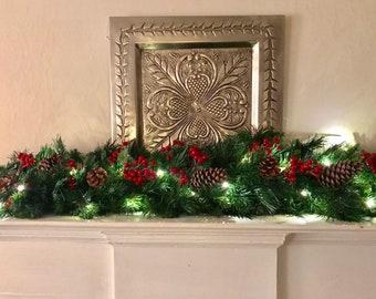 Christmas Garland Etsy