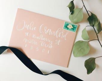 Hand Addressed Wedding Calligraphy