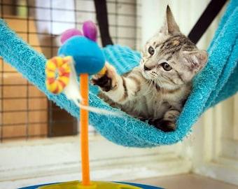 Kitty Beds   Cat Hammock PDF Pattern   Corner Cat Hammock   Cat Stuff