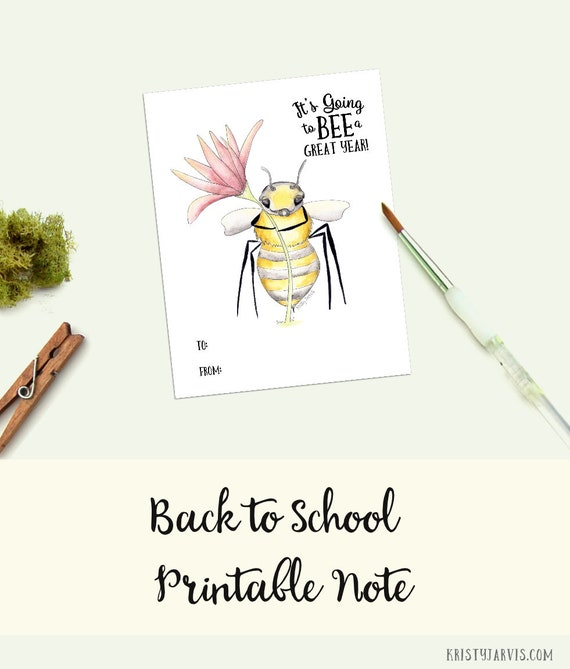 Nature Note Cards Blank Inside Bee Greeting Card by Kristy Jarvis