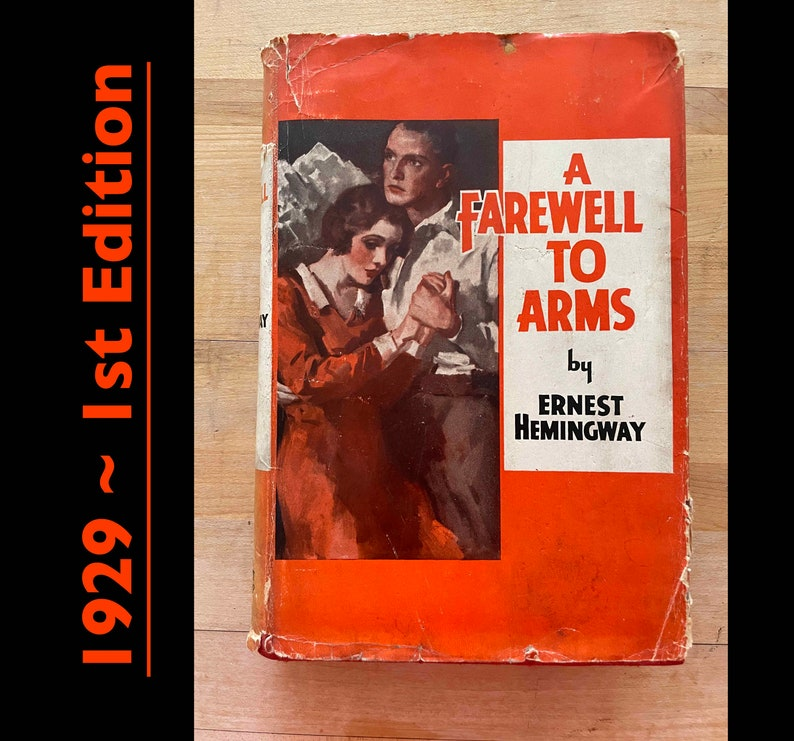 Farewell To Arms . Hemingway . 1st edition image 0