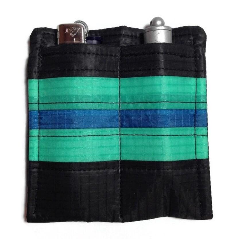 0a23d4e686e016 EDC Black Every Day Carry Stripe Handmade Pocket Organizer   Etsy