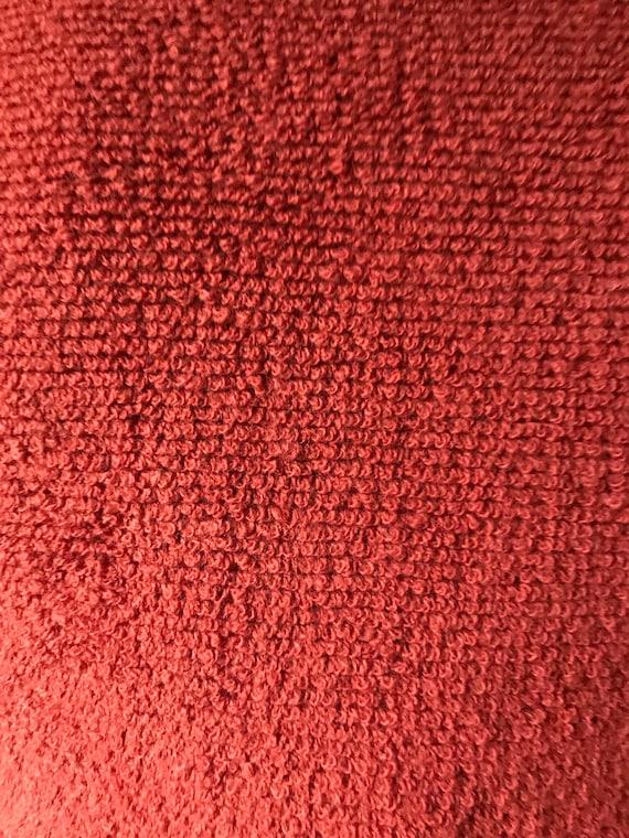 Vintage 70s Rust Sweater Vest - image 8