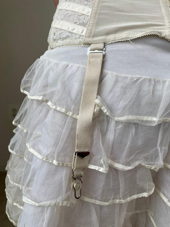 Vintage Bridal Lace Corset - image 8