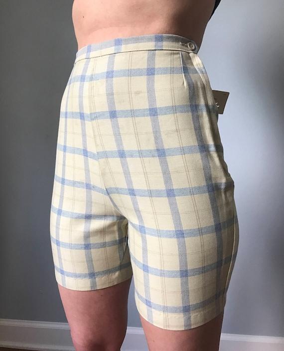 Jaune La À Vintage Paires Années Short Carreaux Jamaïque Des 2 60 cTJlFK13