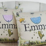 Winnie the Pooh Complete Pillow Customised Name Gift Baby Shower Name cushion Pooh Nursery