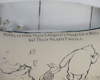 Winnie the Pooh Mothers Day Mini Gift Pillow