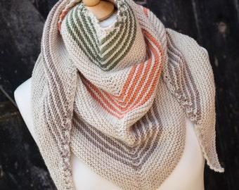 Knitting Pattern/DIY Instructions - Tideswell Shawl