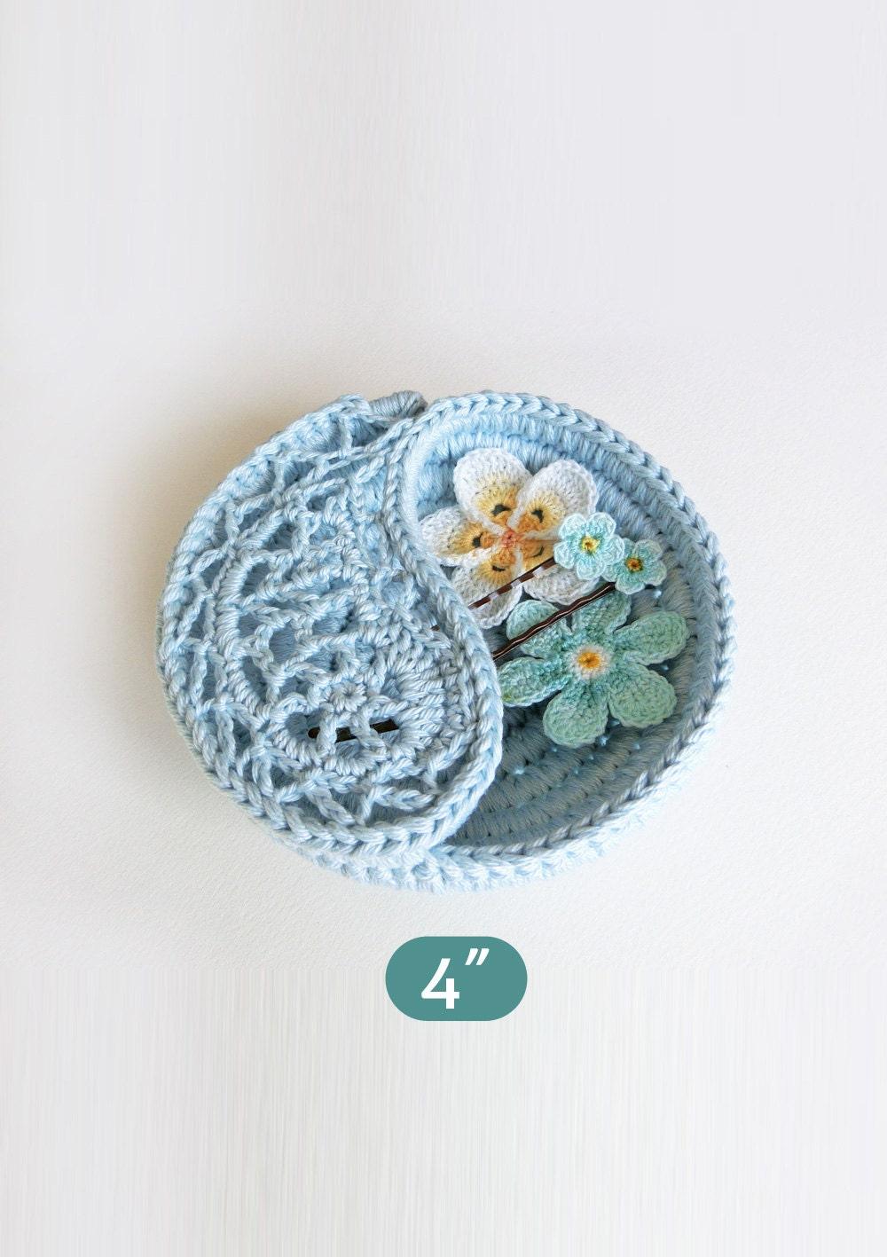 Crochet Pattern Gift For Her Yin Yang Jewelry Dish 4 Etsy