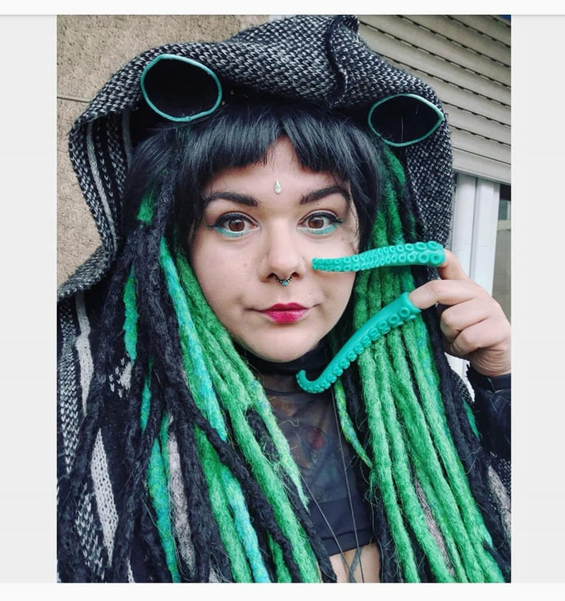 6aee29878bf Dreadlock wig synthetic dreads knotty natural look locks