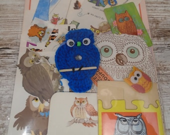 Winking Owl Pin The Nose Birthday Party Game