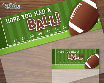 Football Bag Toppers, Have a BALL Football Treat Bag Labels, Printable Football Birthday, INSTANT DOWNLOAD digital file