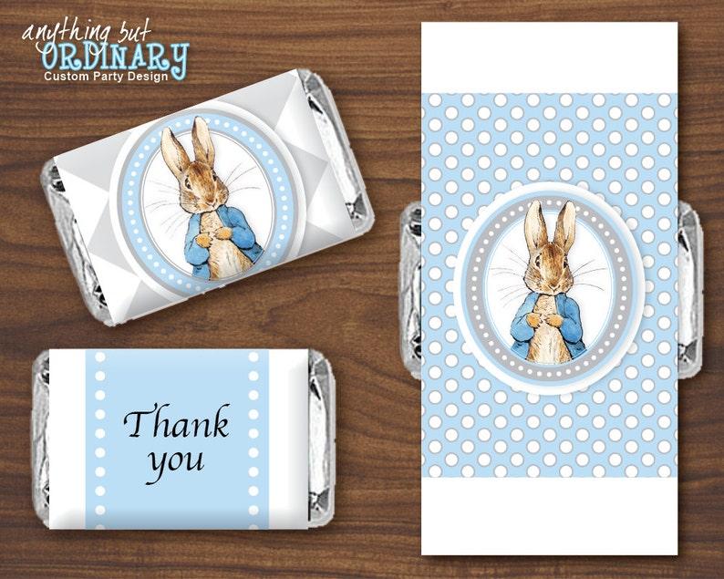 Rabbit Gray Peter Blue Mini Candy SmallEtsy And Labels Bar FK15lJc3Tu