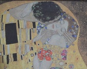 Wrapping Paper. Gift Wrap, Art Paper Klimt - The Kiss