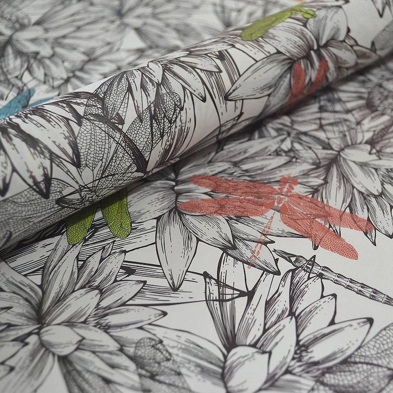 Dragonflies Italian Decorative Paper
