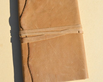Leather Bound Sketchbook Art Journal Diary Notebook (588B)