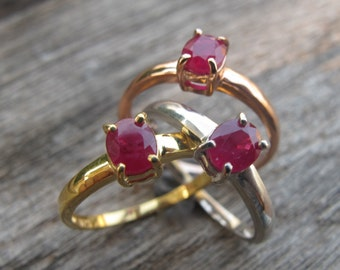 Emerald/Ruby Ring