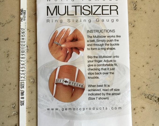Ring Sizer- Ring Sizing Gauge- Multisizer Ring