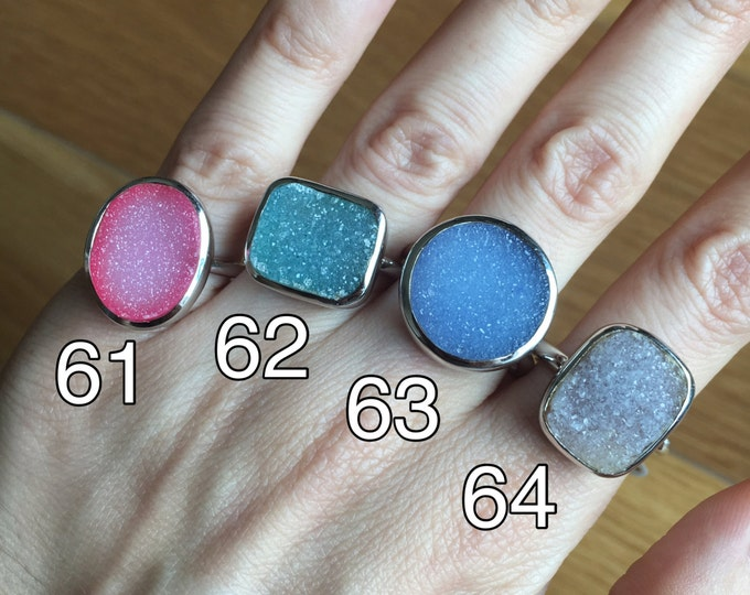 Druzy Ring in all sizes