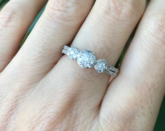 Diamond/Moissanite Ring