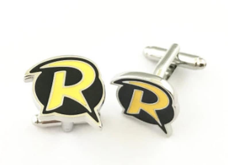 Robin Logo Cufflinks DC Inspired