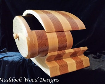 Handcrafted Wood Keepsake Box, Solid Wood Maple and Oak with Drawer and Soft Black Lining