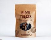 Bison Tracks Bourbon Flavored Jerky 4 oz. Resealable Bag