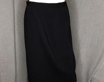 ESCADA Black Pencil Skirt Size: 12