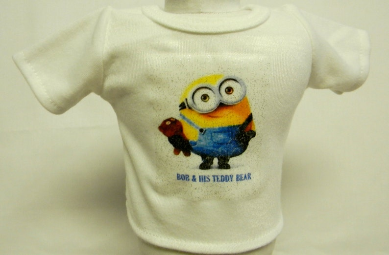 minions bob  his teddy bear theme outfit for 18 inch doll