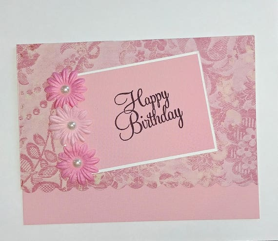 Happy Birthday Wishes Celebrate Pretty Card For