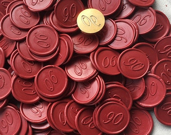 Custom Self Adhesive Wax Seal Stickers - Available in 25 Colors