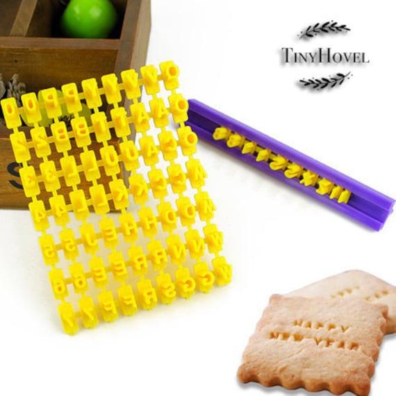 Cookie Stamp Soap Stamp Seal Soap Mold Letter Set A-Z