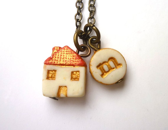 Little House Necklace Home Sweet Girl Gift 5 Years Old