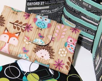 Wallet Pattern Tri-fold Card & Cash Wallet Sewing Pattern by SusieDDesigns