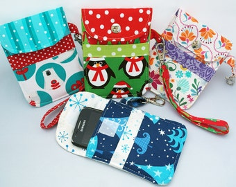 Sewing Pattern Mobile Phone Pouch or MP3 Player Sleeve PN801