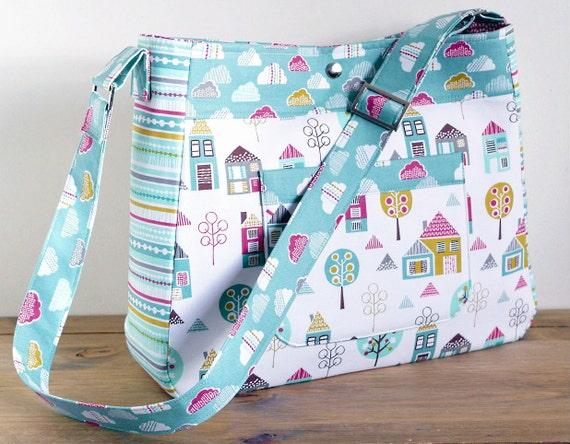 Diaper Bag Pattern Petite Street Nappy Bag Sewing Pattern | Etsy