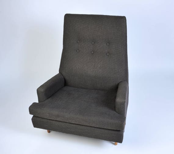Awesome Adrian Pearsall High Back Lounge Chair Machost Co Dining Chair Design Ideas Machostcouk