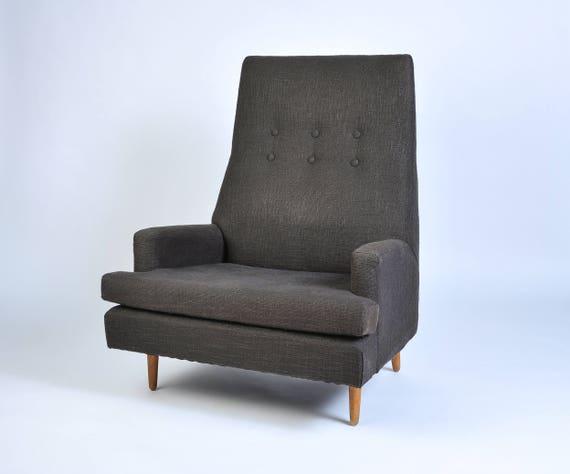 Fantastic Adrian Pearsall High Back Lounge Chair Camellatalisay Diy Chair Ideas Camellatalisaycom