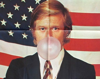 ROBERT REDFORD The CANDIDATE original 1972 movie poster