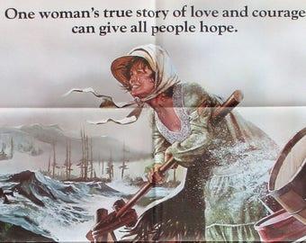 SILENCE Of The NORTH original 1981 movie poster Ellen Burstyn pioneer Canada