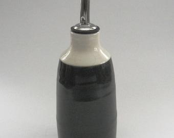 Black and White Oil Bottle