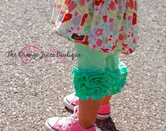 937caae0f013ea Sweet Mint Icing Capris- ready to ship-m2m sew sassy